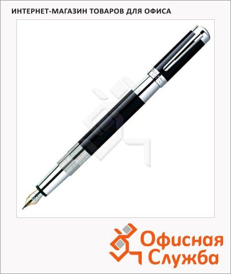 фото: Перьевая ручка Waterman Elegance, черный<br>серебр.