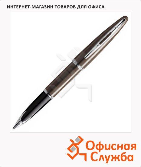 Ручка перьевая Waterman Carene, F, глянцевый коричневый корпус