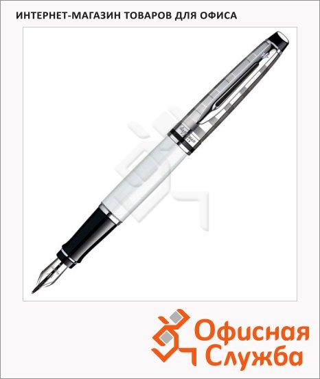 Ручка перьевая Waterman Expert 3 DeLuxe F, белый корпус