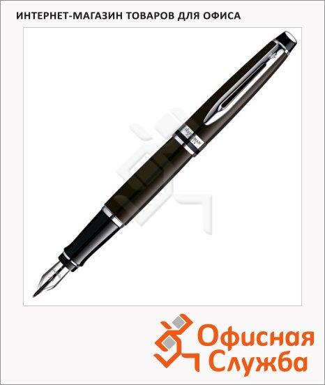 Ручка перьевая Waterman Expert 3 F, темно-коричневый корпус
