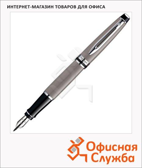 фото: Ручка перьевая Waterman Expert 3 F серо-коричневый корпус, S0952140