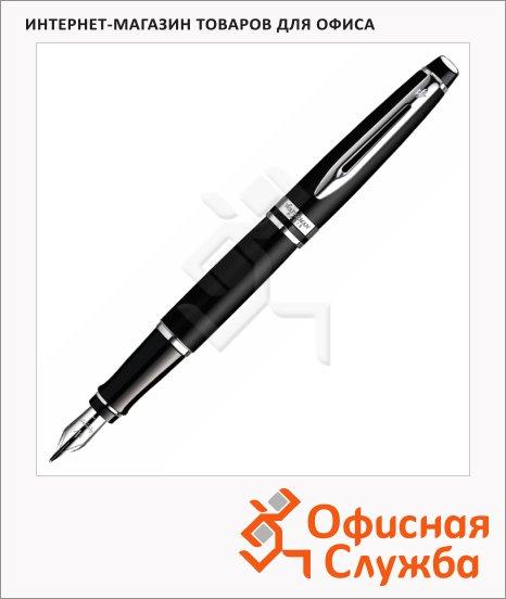 Ручка перьевая Waterman Expert 3 F, матовый черный корпус