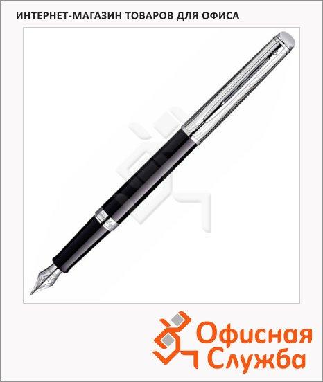 Ручка перьевая Waterman Hemisphere Deluxe F, черный корпус