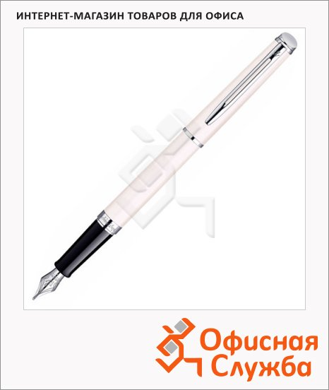Ручка перьевая Waterman Hemisphere Rosewood F, черная, розовый корпус