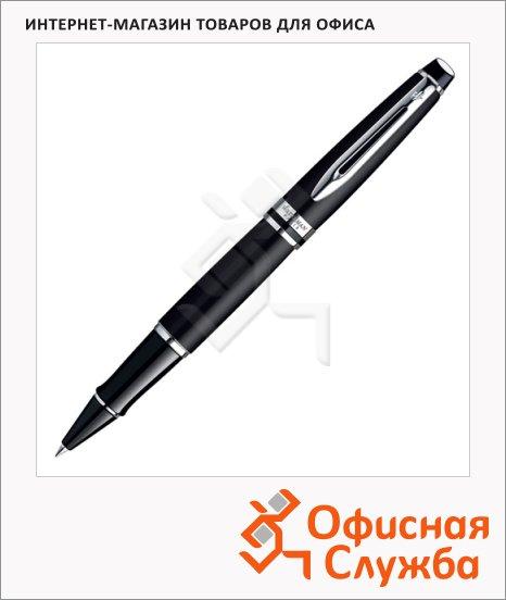 Ручка-роллер Waterman Expert 3 F, черная, черный матовый/металлик корпус, S0951880