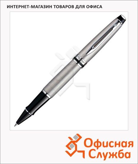 Ручка-роллер Waterman Expert 3 F, черная, стальной корпус, S0952080