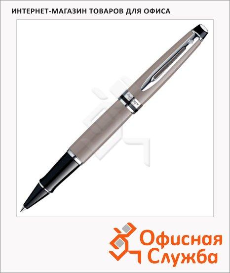 Ручка-роллер Waterman Expert 3 F, черная, бежевый корпус, S0952180
