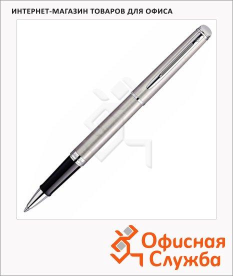 фото: Ручка-роллер Waterman Hemisphere Stainless Steel CT 1мм черный хром корпус, S0920450