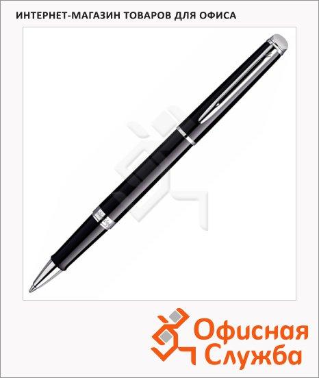 Ручка-роллер Waterman Hemisphere Mars Black М, черная, черный/серебристый корпус, S0920550