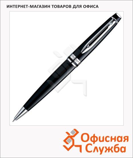 фото: Ручка шариковая Expert Black Lacquer CT 1мм черный/серебристый корпус, S0951800