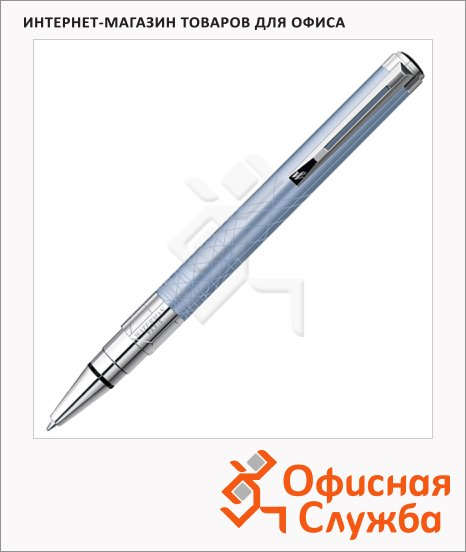 Ручка шариковая Waterman Perspective, синяя, М, лазурный корпус