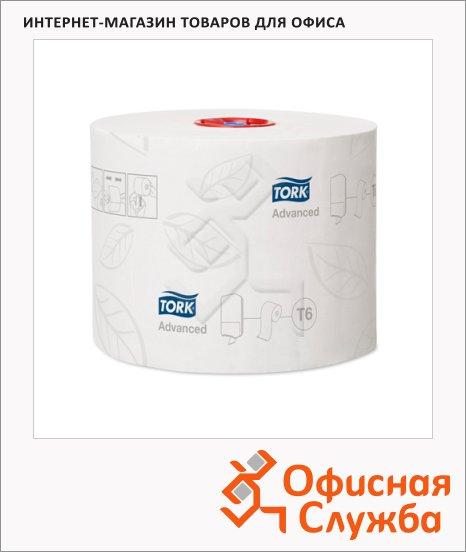Туалетная бумага Tork Advanced T6, 127530, в рулоне, 100м, 2 слоя, белая