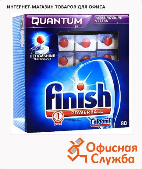 фото: Таблетки для ПММ Finish Quantum 80шт