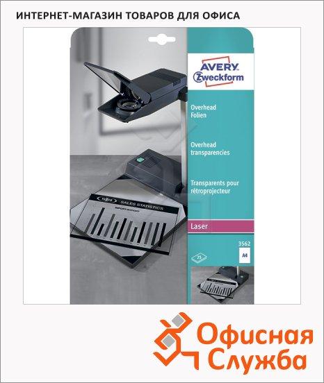 ������ ��� ��������� Avery Zweckform 3562-25, ����������, 210x297��, 0.1��, 25 ������, �4, ��� �����/ �������� ������