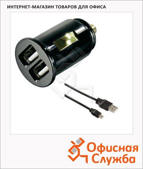 фото: Зарядное устройство автомобильное Dual Piccolino micro USB 12В