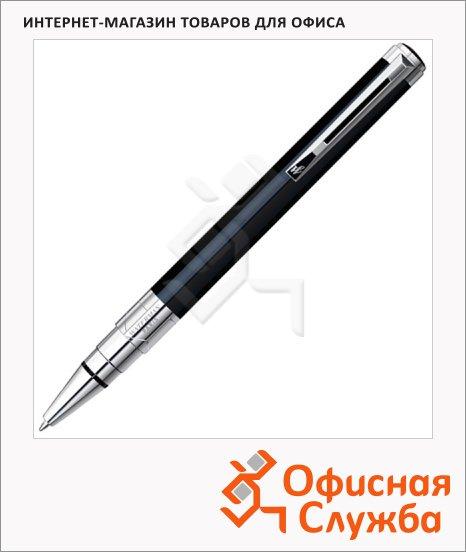 Ручка шариковая Waterman М, синяя, черный корпус