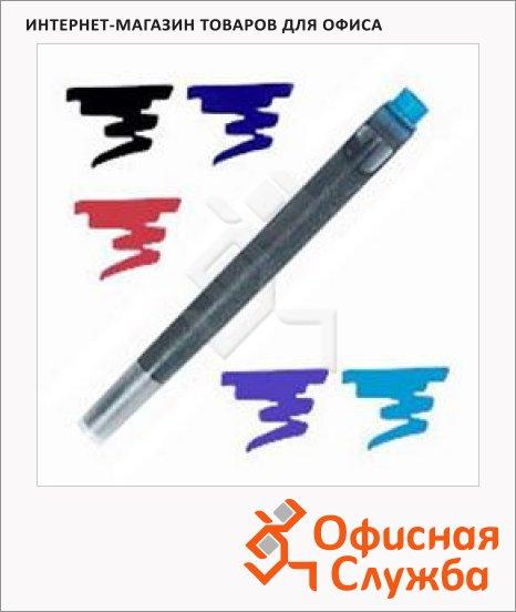 Картридж для перьевой ручки Waterman №5 S0110860, синий