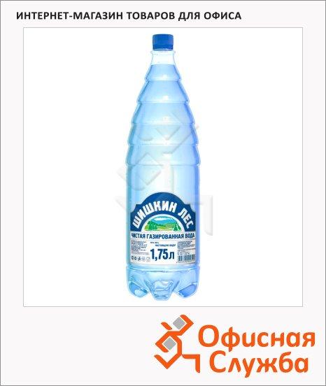 Вода питьевая Шишкин Лес газ, ПЭТ, 1.75л