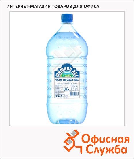Вода питьевая Шишкин Лес без газа, ПЭТ, 1.75л