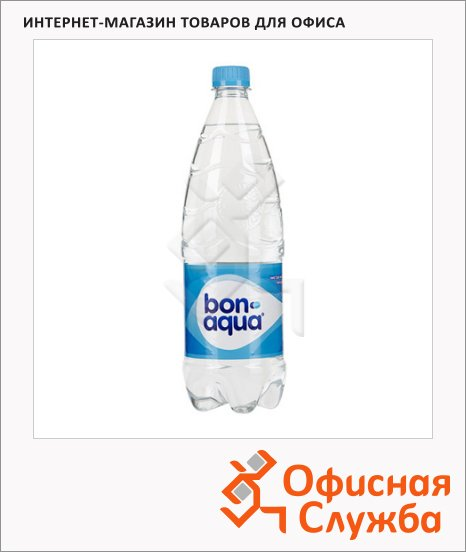 фото: Вода питьевая Bon Aqua без газ ПЭТ, 1л