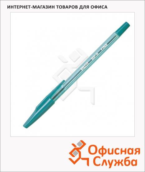 фото: Ручка шариковая Pilot BP-S-F зеленая 0.7мм
