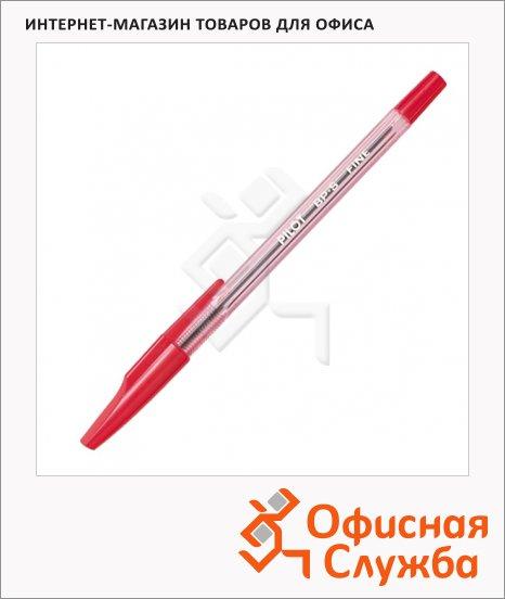 фото: Ручка шариковая Pilot BP-S-F красная 0.7мм