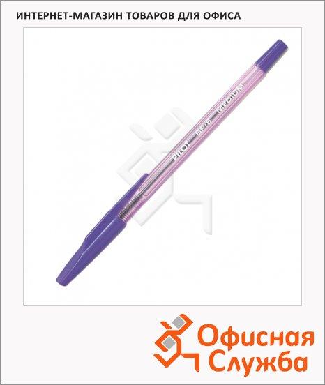 фото: Ручка шариковая Pilot BP-S-F фиолетовая 0.7мм