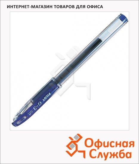 Ручка гелевая Pilot BLN-G3-38 синяя, 0.2мм