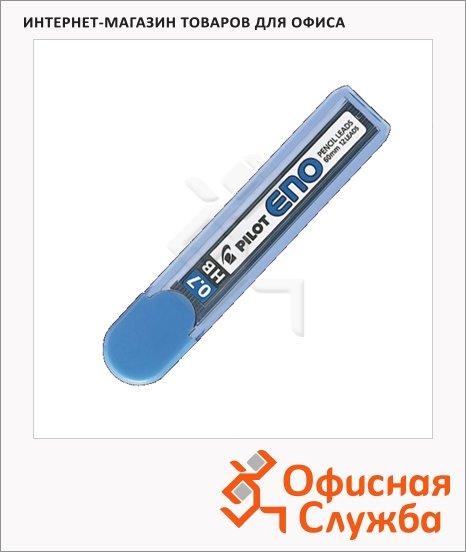Грифели для механических карандашей Pilot ENO HB, 12шт, 0.7мм