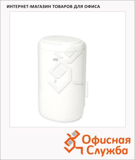 фото: Контейнер для мусора подвесной Tork Elevation B3 564000, с крышкой, 5л, белый