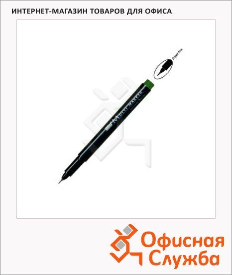 Маркер для CD перманентный Marvy Multi Marker зеленый, 0.8-1мм, игольчатый наконечник