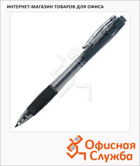 Ручка шариковая автоматическая Expert Complete Fusion черная, 0.5мм