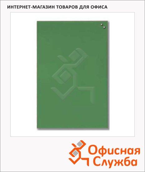 фото: Доска магнитная маркерная стеклянная 10573 40х60 см светло-зеленая