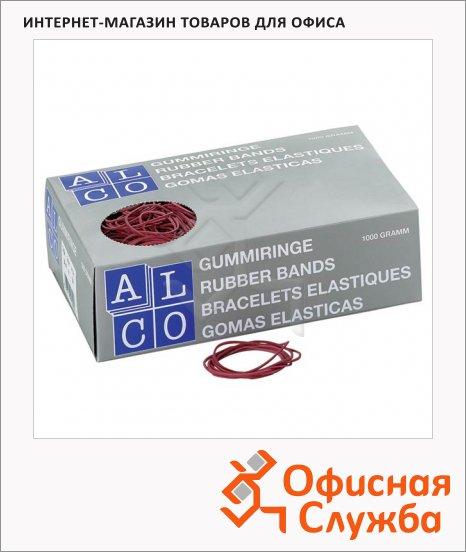 фото: Резинки для денег Alco 65мм 50г, красные, 734/811506