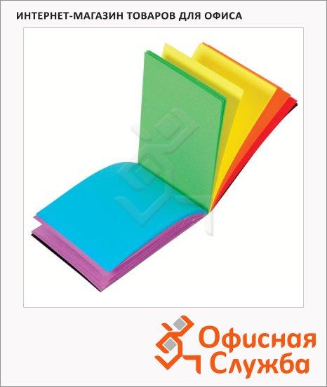 фото: Блокнот Viquel А7 нелинованный, на сшивке, с цветными страницами, 60 листов