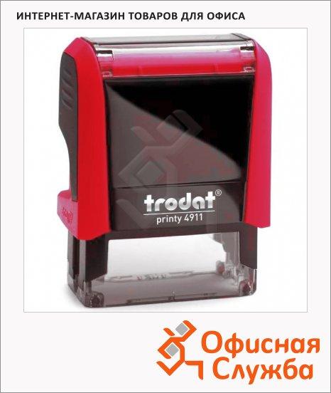 Оснастка для прямоугольной печати Trodat Printy 38х14мм, 4911, красная