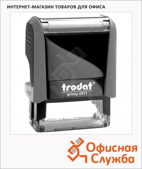 фото: Оснастка для прямоугольной печати Trodat Printy 38х14мм 4911, серая