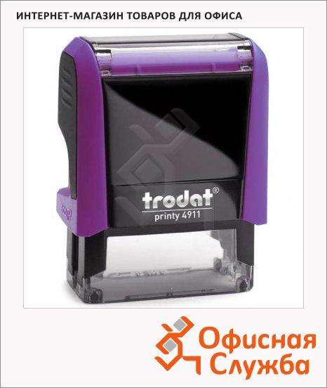 Оснастка для прямоугольной печати Trodat Printy 38х14мм, 4911, фуксия