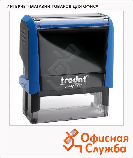 фото: Оснастка для прямоугольной печати Trodat Printy 47х18мм 4912, синяя