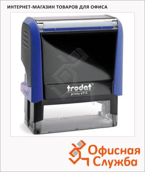 Оснастка для прямоугольной печати Trodat Printy 58х22мм, 4913, синяя