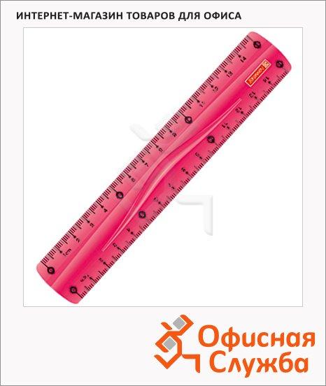 Линейка Brunnen 49830-26\284490 30см, розовая