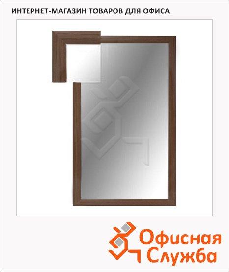 Зеркало настенное Attache 1801 СЕ-1 орех, 1000х600мм