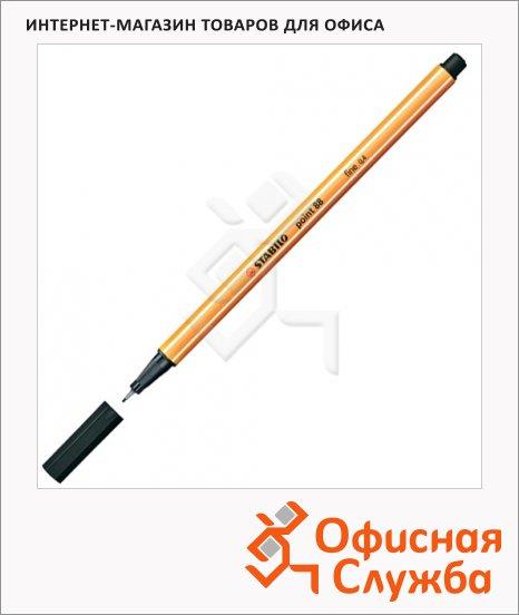 фото: Ручка капиллярная Point 88 черный 0.4мм, полосатый корпус