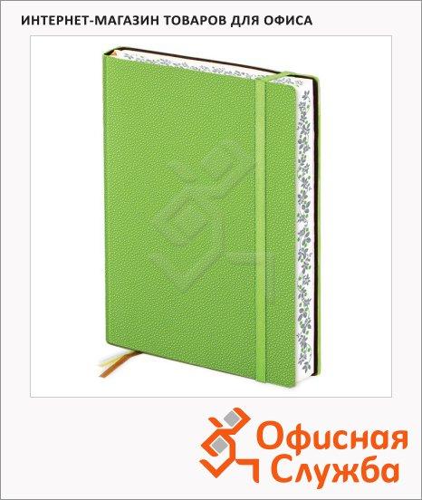 Ежедневник недатированный Infolio Froggy зелёный, А6, 160 листов, 12х17см