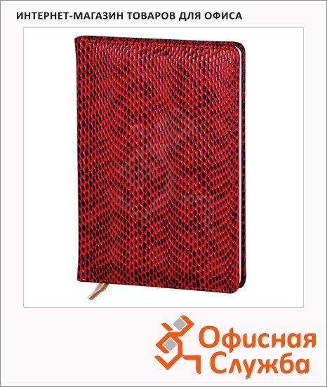 Ежедневник недатированный Infolio Granada бордовый, А5, 96 листов, 14х20см