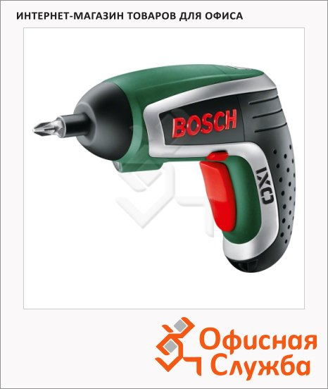 Отвертка аккумуляторная Bosch IXOIV 3.6В, 5ч