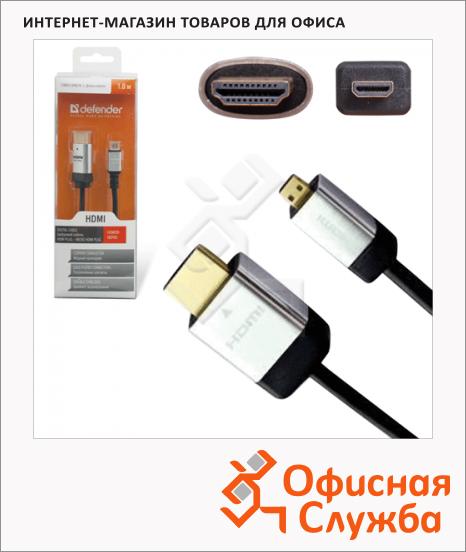 Кабель HDMI-HDMI Defender Micro (m-m) 1.8 м, 87461