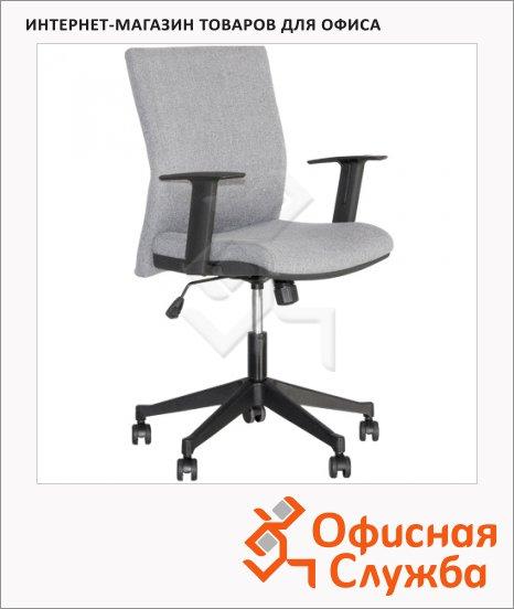 Кресло офисное Nowy Styl Cubic GTR ткань, крестовина пластик, серая