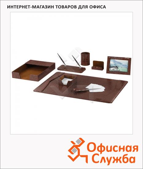 фото: Набор настольный Galant Casablanca 8 предметов коричневый