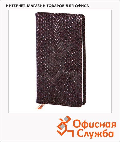 Записная книжка Infolio Granada шоколадная, А6, 96 листов, 9х16см